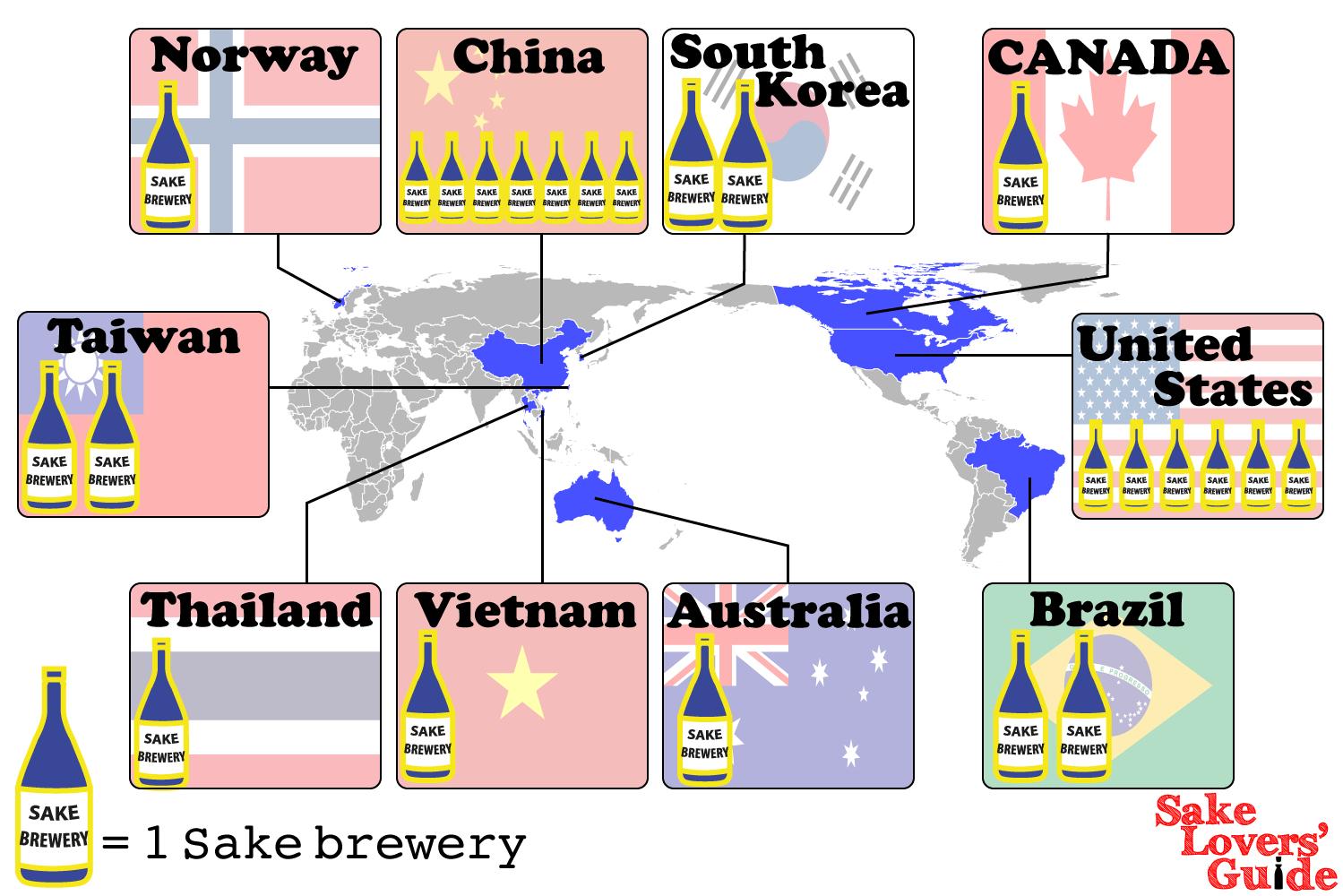 sake map